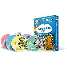 DVD de aprendizaje del Coreano para niños