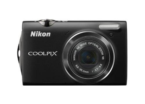 Nikon Coolpix S5100 Digitalkamera (12 Megapixel, 5-fach opt. Zoom, 6.7 cm (2.7 Zoll) Display, HD-Videofunktion, opt. Bildstabilisator) schwarz