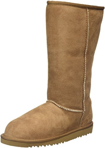 ugg-unisex-kids-classic-tall-ankle-boots-brown-chestnut-5-uk
