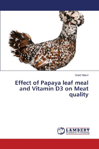 Papaya Leaf (Effect of Papaya leaf meal and Vitamin D3 on Meat quality)
