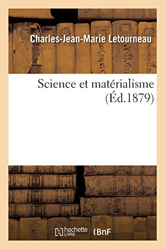 Science et matérialisme (Éd.1879)