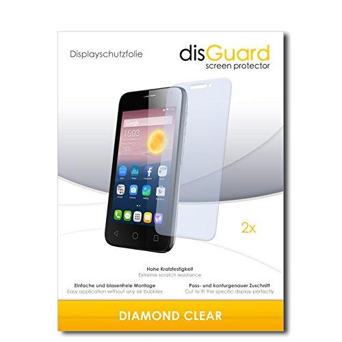 2 x disGuard® Bildschirmschutzfolie Alcatel Pixi First Schutzfolie Folie