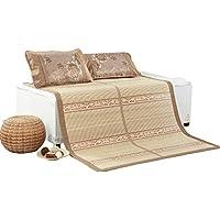 Preisvergleich für WXH Bambusmatte Doppelseitige Klappmatte Bambus Material Komfortabel und Atmungsaktiv