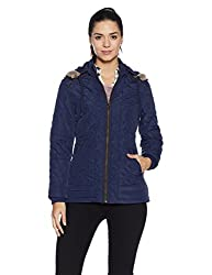 Fort Collins Womens Cape Hoodie (6632 AZ_navy_L)