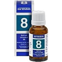 Schuessler Globuli Nr. 8 - Natrium chloratum D6 - 15g Globuli - gluten- und laktosefrei preisvergleich bei billige-tabletten.eu