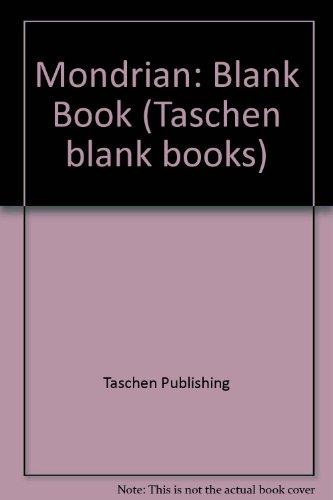 Mondrian: Blank Book (Taschen blank books) by Taschen Publishing