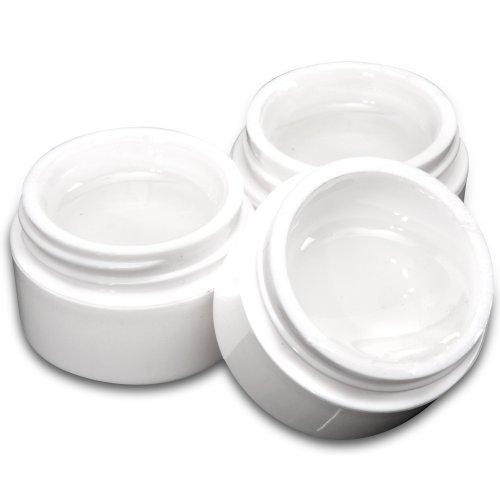 3 Dosen Nagelgel UV Gel set Nail Art Klar Aufbaugel Gele 15ml Nagel design (Ausarbeitung Studio-designs)