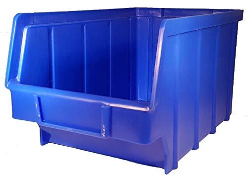 40x Stapelbox Gr. 2 Stapelboxen Lagerboxen Kiste Sichtlagerkasten Werkstatt