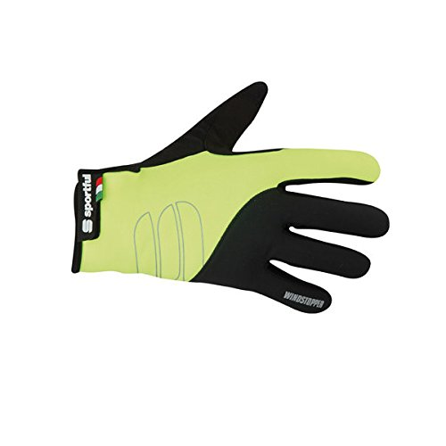 guanti ciclismo sportful Sportful Guanti Ws Essential Glove Yellow / Black Xl