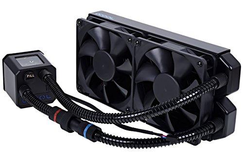 Alphacool Eisbaer 240 CPU Procesador - Refrigeración (Negro, 30 mm, 2,31 kg, 12 cm)