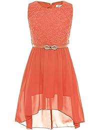 Kleid orange festlich