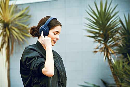 Sony WH-XB900N Bluetooth Noise Cancelling Kopfhörer (Extra Bass,30h Akku, Amazon Alexa & Google Assistant, Gestensteuerung) Blau - 9
