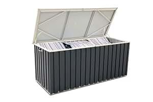 tepro metall ger tebox 170x70 anthrazit wei garten. Black Bedroom Furniture Sets. Home Design Ideas