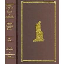 "[(Critical Responses to ""Hamlet"": 1600-1900 v. 4)] [Author: David Farley-Hills] published on (June, 2006)"