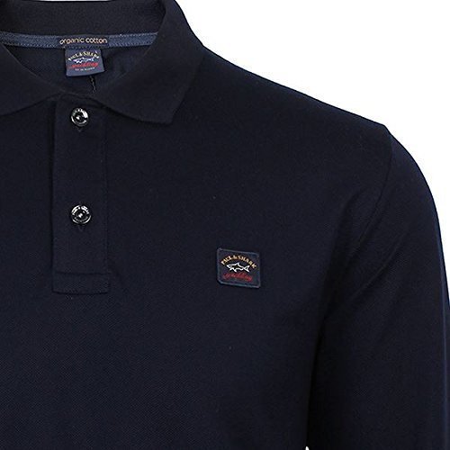 Paul & Shark Langarm-Poloshirt-Marine X Large