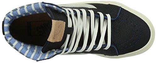 Vans Sk8-Hi 46 CA Stripes (Dress Blue) Stripes (Dress Blue)