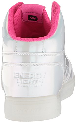 Shoes LightsE Sneaker Bianco Pearl Alto Skechers Princess A