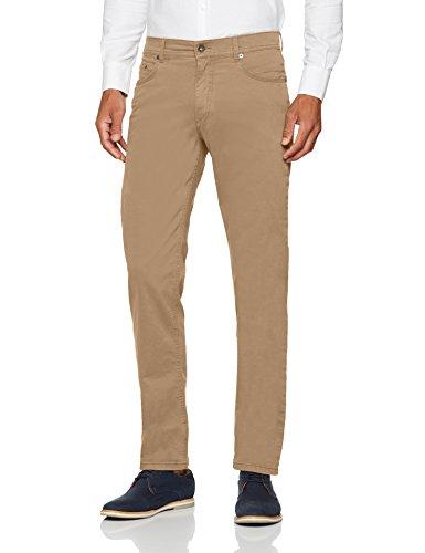 Brax Herren Cooper Fancy Flachgewebe Hose, Beige (56), 33W / 30L - Fancy Pants Designs