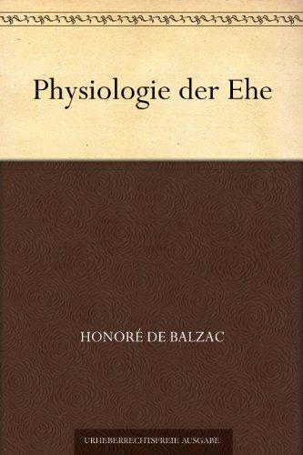 Physiologie der Ehe (Der Mann, Der Gezählt)