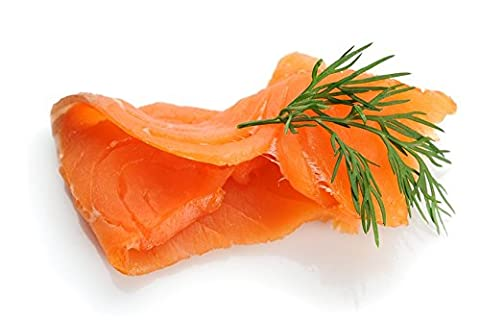 Sliced Scottish Smoked Salmon Side Frozen Seafood