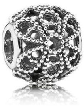 Pandora 791282 Offenes Rosen-Charm 925 Sterling Silber