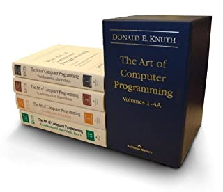The Art of Computer Programming, Volumes 1-4 (Box Set) (0321751043) | Amazon Products