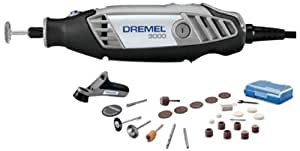 Dremel 3000-1/26 Rotary Multi-Tool Set (Grey)
