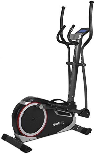 SportPlus SP-ET-9600-iE - Crosstrainer / Stepper Ergomètre Compatible avec l'App Cardiofit - Suivi de Performances Personnalisé + la Fonction Google Street View - Poids Utilisateur max 110 kg - Masse d'inertie : 13 kg
