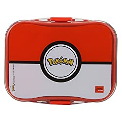 Jaypee Plus My Box Plastic Lunch Box set, Pokemon Red
