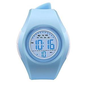 1d61fb1caee1 Relojes Deportivos Digitales para niñas – XREXS Reloj de Pulsera con Reloj  Despertador EL Light