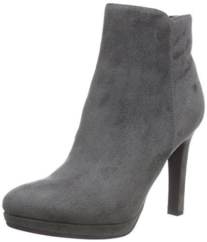 Buffalo Shoes Damen Y436-51B P1804F IMI Suede Kurzschaft Stiefel, Grau (Grey 10), 39 EU