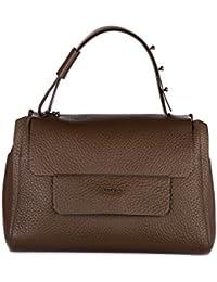 Furla bolso de mano para compras en piel mujer nuevo marrón