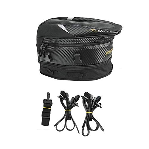 Borse Porta Casco Moto con Tracolla Staccabile Borsa Serbatoio Moto Posteriore Moto Impermeab