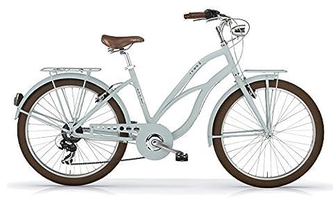 Vélo MBM MAUI 2016 cruiser femme (Bleu arctique opaque, 45)