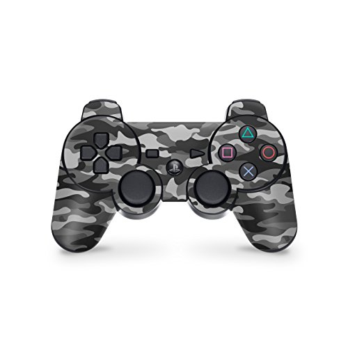 Skins4u Playstation 3 Controller Skin - Design Aufkleber Sticker Set für PS3 Gamepad - Urban Camo (Skin Ps3 Controller Sticker)