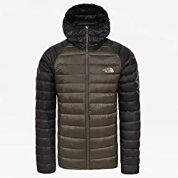 The North Face Trevail Hoodie Chaqueta de Plumón, Hombre, Verde (New Taupe Green), M