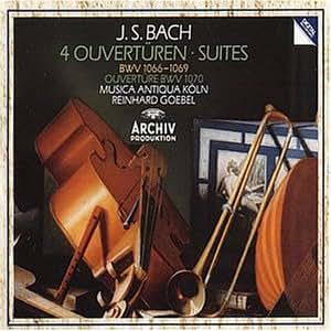 Orchestersuiten BWV 1066-70