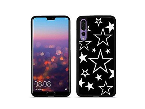 etuo Huawei P20 Pro - Hülle Hybrid Fantastic - Sterne - Handyhülle Schutzhülle Etui Case Cover Tasche für Handy