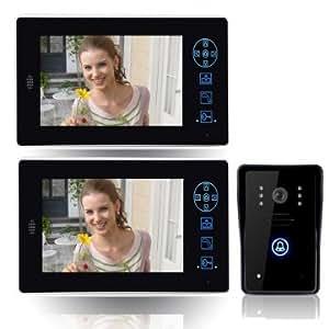 Haut SYSD qualité vidéo sans fil Interphone Sonnette Téléphone CT8501A12