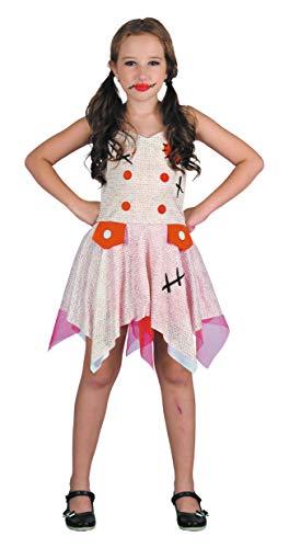 Mädchen Kostüm Voodoo - Party Pro 8729129046 Voodoo-Kostüm für Mädchen, 4-6 Jahre