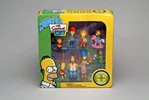 Simpsons Figurines - Series 1 Tin - Evergreen Terrace