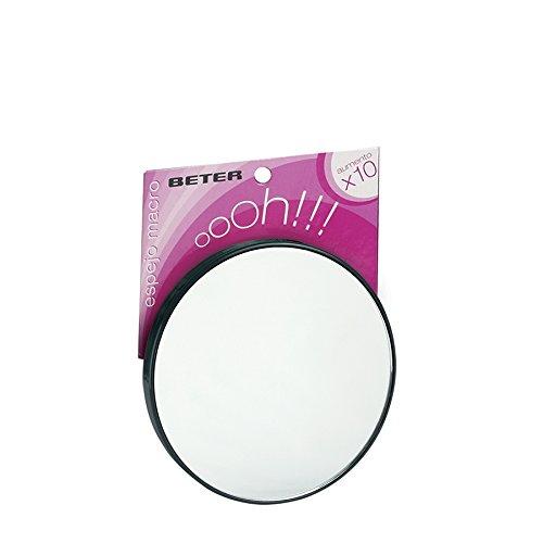 Beter Ohh!, Espejo de mano para peluquería 10 aumentos, con ventosa