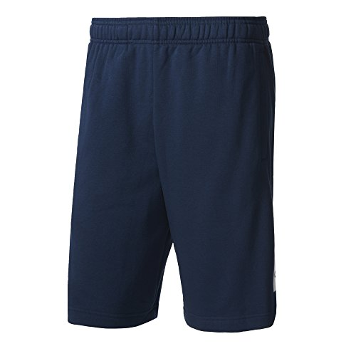 adidas Herren Essentials Shorts, Collegiate Navy/White, XL