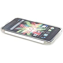 funda Wiko Bloom TPU-Carcasa , Protección contra choques para el smartphone (funda carcasa en transparente)