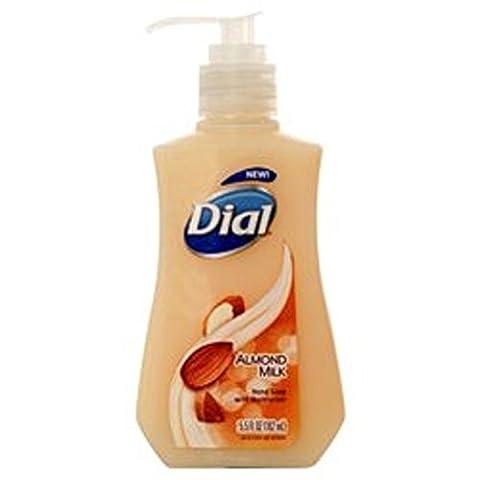 3 Pk, Dial Almond Milk Hand Soap with Moisturizer 5.5 FL OZ by Dial