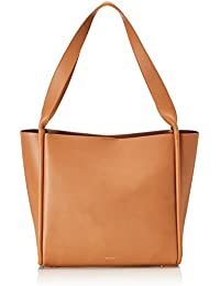 Skagen - Karalie, Shoppers y bolsos de hombro Mujer, Braun (Tan), 28.5x11.02x15 cm (B x H T)