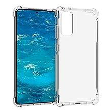 Samsung Galaxy S20 (6.2 inch) Clear Bumper Case - Slim, Soft, Shockproof, Anti-Scratch TPU Gel Cover - Hybrid Drop Protection - Crystal Clear (Samsung Galaxy S20)