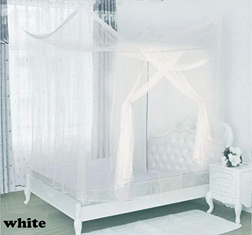 m- und Reisebettüberdachung, extra großes Zelt für Doppel- bis Kingsize-Betten, feinste Löcher, einfache Installation, Aufhängeset ()