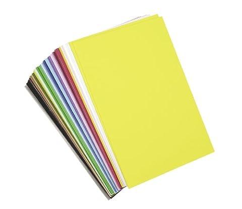 Darice Foam Sheets 6-inch x 9-inch 40/Pkg-Assorted Colors