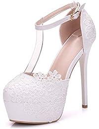 Para Y es Mocasines Complementos Zapatos Mujer Boda Amazon qzvwSO